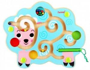iWood Labirynt magnetyczny Owieczka