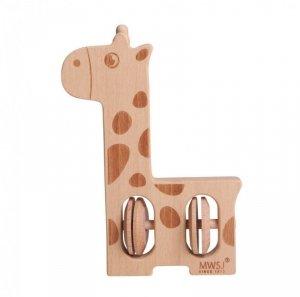 iWood Grzechotka żyrafa drewniana