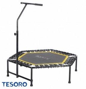 Tesoro Trampolina Fitness Hexagon 50 Inch pomarańczowy