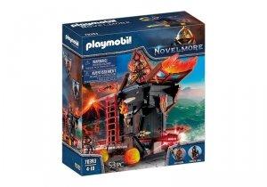 Playmobil Zestaw figurek 70393 Ognisty taran Wojowników Burnham