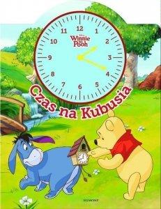 Książka z zegarem Kubuś i Przyjaciele. Czas na Kubusia.