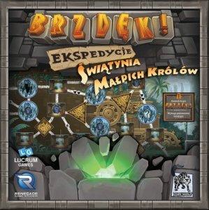 LUCRUM GAMES Gra Brzdęk! Ekspedycje: Świątynia Małpich Królów