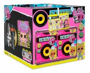 Mga Laleczka L.O.L. Surprise Remix Hairflip display 12 sztuk