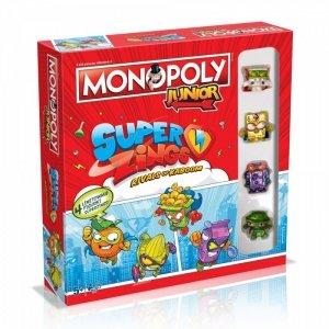 Winning Moves Gra Monopoly Junior SuperZings
