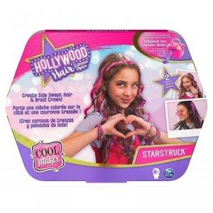 Spin Master Zestaw ozdób COOL MAKER Hollywood Hair zestaw uzupełniający 20125276