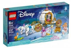 LEGO Klocki Disney Princess 43192 Królewski powóz Kopciuszka