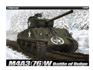 Academy Model do sklejania M4A3(76)W US Army Battle of Bulge
