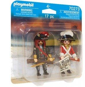 Playmobil Figurki Duo Pack 70273 Pirat i oficer Rotrock