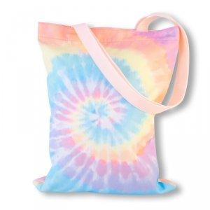 Stnux Torba Shopper tie dye pastelowy
