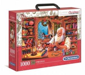 Clementoni Puzzle 1000 elementów Brief Case Kolekcja Świąteczna