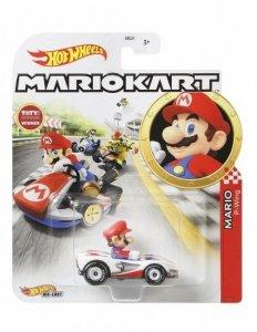 Hot Wheels Pojazd podstawowy Mario Kart Mario P-Wing