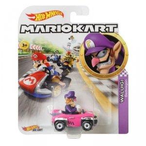 Hot Wheels Pojazd podstawowy Mario Kart Waluigi Badwagon