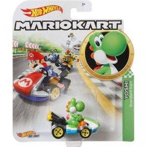 Hot Wheels Pojazd podstawowy Mario Kart Yoshi