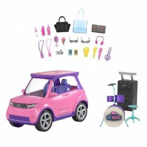 Mattel Samochód Barbie Big City, Big Dreams - Koncertowa scena 2w1