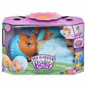 Mattel Lalka My Garden Baby Bobasek-Motylek Miękka niebieska