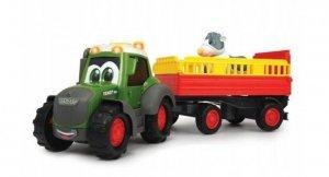 Dickie ABC Traktor Fendt i przyczepa, 30 cm