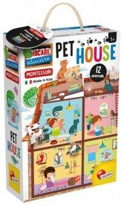 Lisciani Domek Montessori Pet House