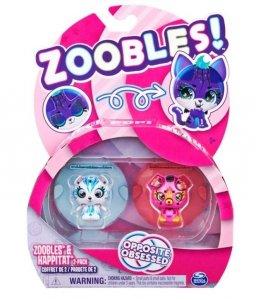 Spin Master Figurki Zoobles Zwierzątka 2pak Bear/Puppy