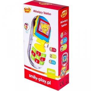 Smily Play Telefon ze światłem i dźwiękiem żółty
