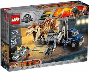 LEGO Klocki Jurassic World 75933 Transport tyranozaura