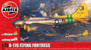 Airfix Model plastikowy Boeing B17G Flying Fortess 1/72