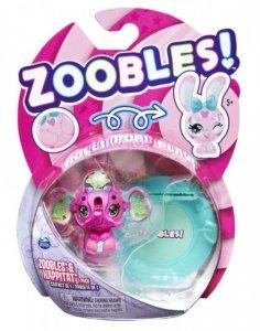 Spin Master Figurka Zoobles Zwierzątko 1pak Elephant