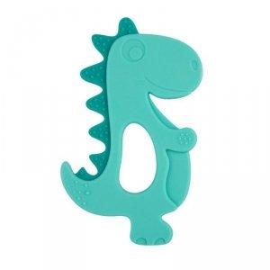 Gryzak silikonowy dinozaur