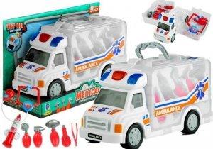 Zestaw Lekarski w Ambulansie Walizka 9 Elementów