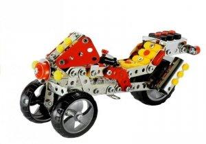 Zestaw Klocki Konstrukcyjne DIY Motocykl 197 Eleme
