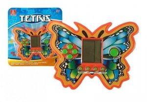 Gra Elektroniczna Tetris Motyl Pomarańczowy
