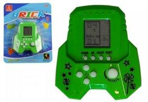 Gra Elektroniczna Tetris Bricks Rakieta Zielona