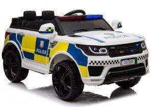 Auto na Akumulator Policja JC002 Biały