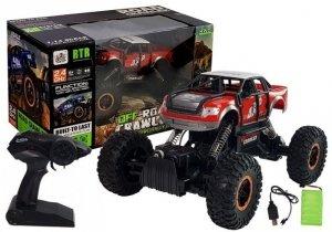 Monster Truck Zdalnie Sterowany R/C 1:14 Czerwony