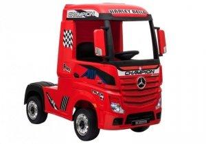 Auto na Akumulator Mercedes Actros Czerwony MP4