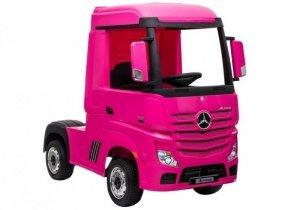 Auto na Akumulator Mercedes Actros Różowy MP4
