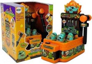 Gra Zręcznościowa Uderz Zombie Młoteczek Pomarańczowa Dźwięk