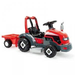 Traktor elektryczny z przyczepą 2w1 6V Injusa