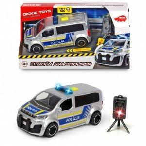 DICKIE Samochód Policyjny SOS Citroën SpaceTourer