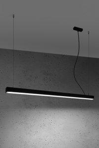 Lampa wisząca PINNE 117 czarna 4000K