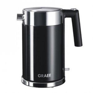 GRAEF. Kettle WK 62 Standard, Stainless steel, Black, 2150 W, 360° rotational base, 1.5 L