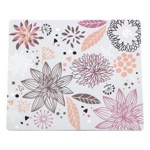 Logilink Designer Mousepad Flower Field Multi, PVC, Mouse Pad, 230 x 195 x 3 mm