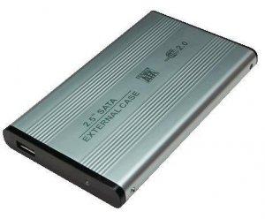 Logilink Enclosure 2.5 inch S-ATA HDD USB 2.0 Alu 2.5, SATA, USB 2.0