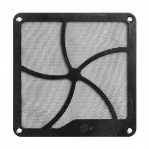 SilverStone Fan grille and filter kit SST-FF141B Black, 140 x 140 x 3 mm