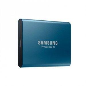 Samsung T5 500 GB, USB 3.1, Blue, Portable SSD