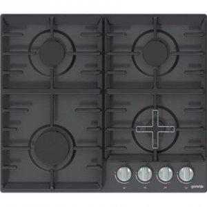 Gorenje Hob G641MB Gas, Number of burners/cooking zones 4, Black,