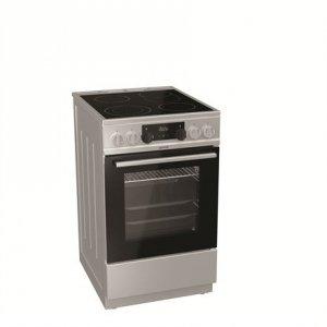 Gorenje Cooker EC5351XA Hob type Vitroceramic, Oven type Electric, Stainless steel, Width 50 cm, Electronic ignition, Depth 60 c