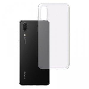 3MK Clear Case Back cover, Huawei, P20, TPU, Transparent