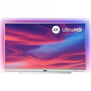 Philips 50PUS7304/12 50 (126 cm), Smart TV, UHD LED, 3840 x 2160 pixels, Wi-Fi, DVB-T/T2/T2-HD/C/S/S2, Silver