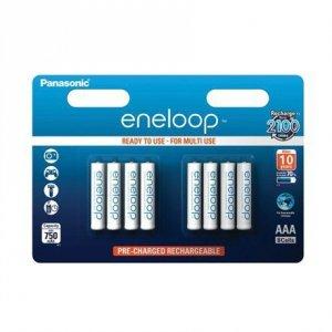 Panasonic Eneloop AAA/LR03, 750 mAh, Rechargeable Ni-MH, 8 pc(s)