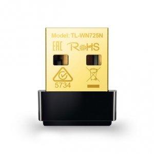 TP-LINK Nano USB 2.0 Adapter TL-WN725N 2.4GHz, 802.11n, 150 Mbps, Internal antenna